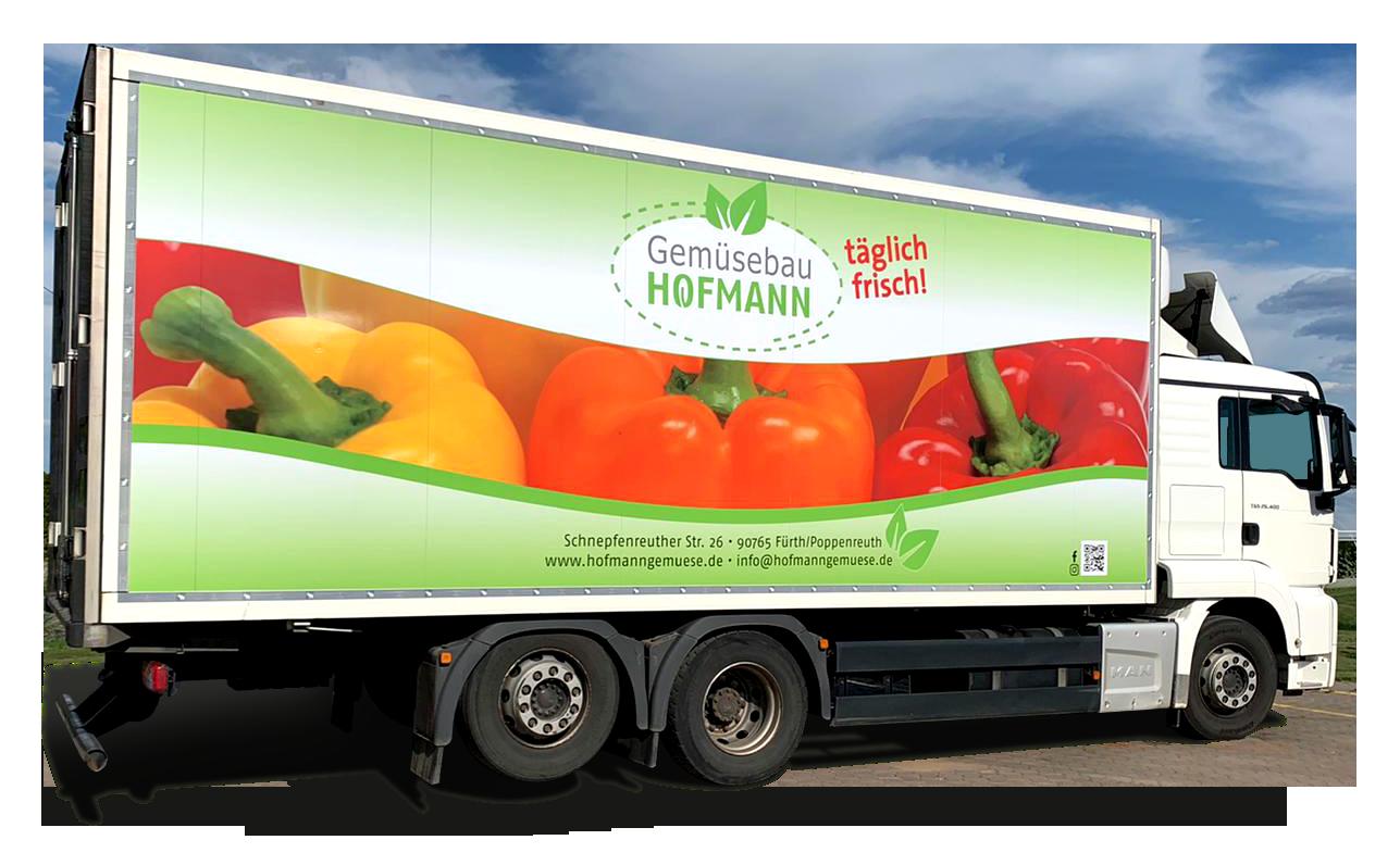 Gemüse Hofmann LKW