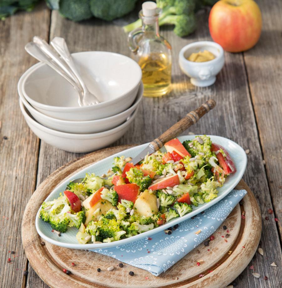 Brokkoli-Apfel-Salat