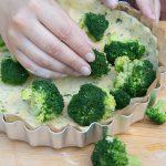 Brokkoli-Lachs-Quiche